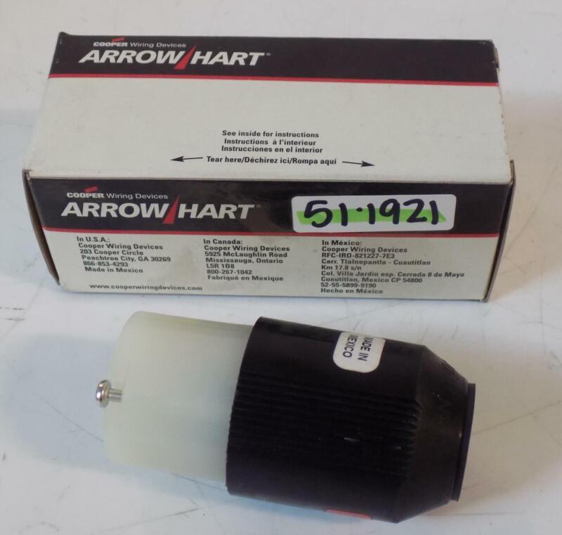 ARROW HART 2P 3W AUTOGRIP CONNECTOR 7565N NIB
