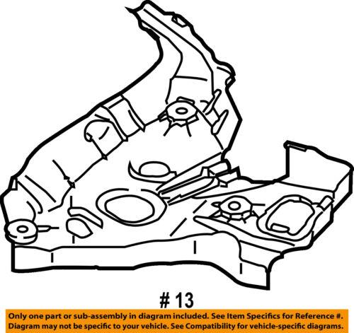 Audi Oem 05 11 A6 Quattro Rear Suspension Lower Cover Left