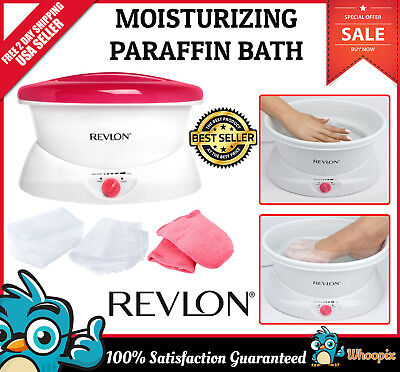 Revlon for Her Thermal Therapy Quick Heat Paraffin Wax Bath NEW Spa Foot