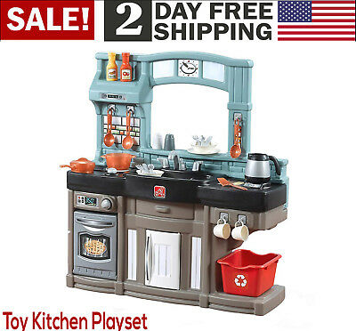 Kids Chef Kitchen Toy Interactive Learning Cooking Play Set 25 Piece Accessories