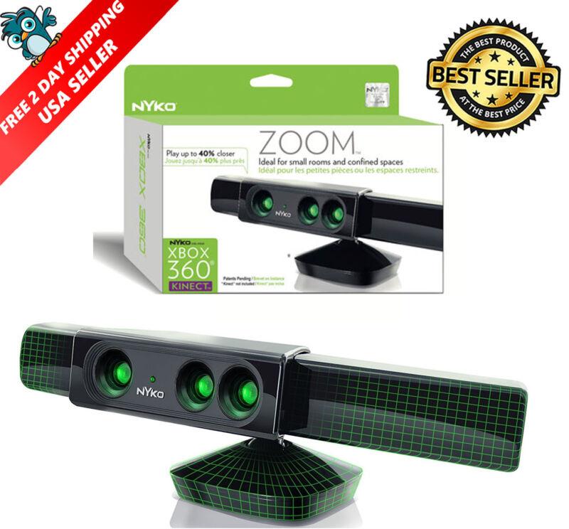 Xbox 360 Nyko Kinect Zoom Motion Sensor Microsoft Video G...