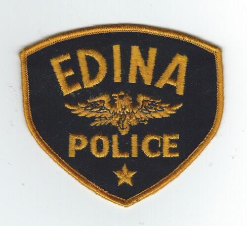 VINTAGE EDINA, MINNESOTA POLICE (CHEESE CLOTH BACK) patch