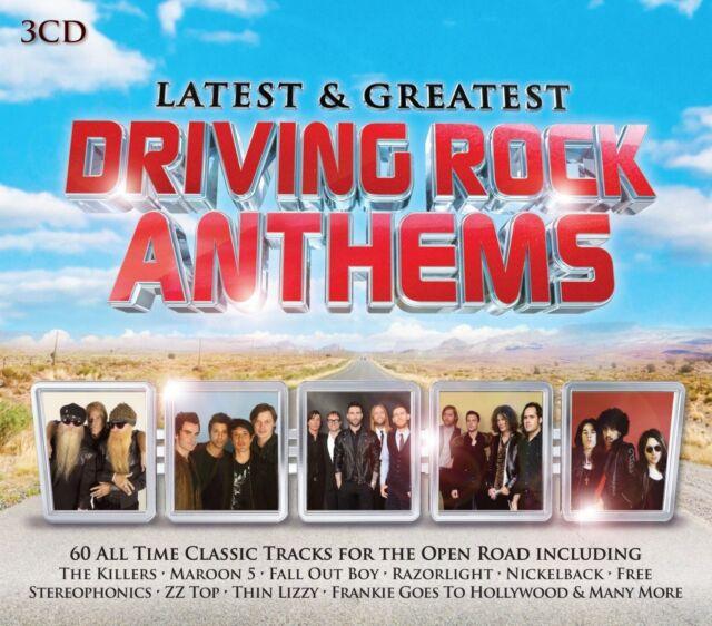DRIVING ROCK ANTHEMS 3 CD NEU NICKELBACK/KISS/BILLY IDOL/NAZARTH/STATUS QUO/+