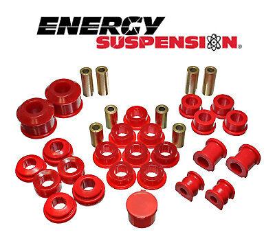 Honda Civic Suspension System - ENERGY SUSPENSION HYPER FLEX SYSTEM FOR HONDA CIVIC SI 02-05 EP3 (RED)