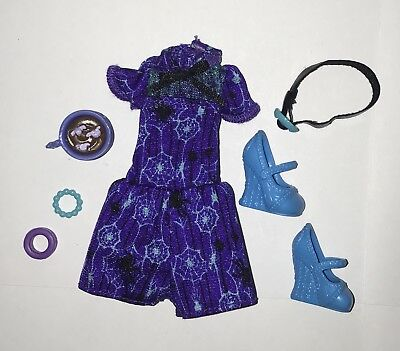 Monster High Coffin Bean Twyla Doll Complete Outfit Clothes Jumper Shoes Mug NEW](Twyla Monster)