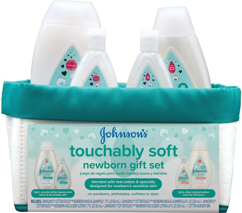 Newborn Baby Gift Set  Baby Bath & Skincare Essentials for Sensitive Skin