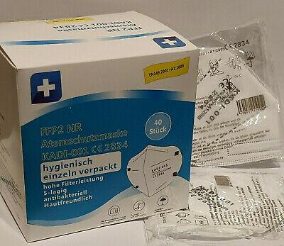 10x FFP2 Masken Deutsche-Verpackung 5 Lagig Mundschutzmasken EINZELN VERPACKT