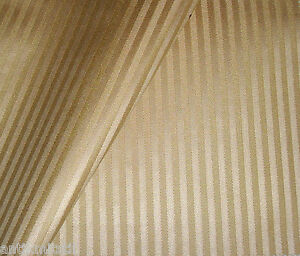 Stoff 140cm Möbelstoff Polsterstoff beige gestreift 0,5 cm Biedermeier Meterware