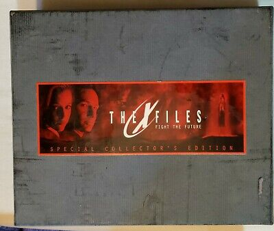 X-Files Fight The Future Special Collector's Edition VHS Set Complete Script