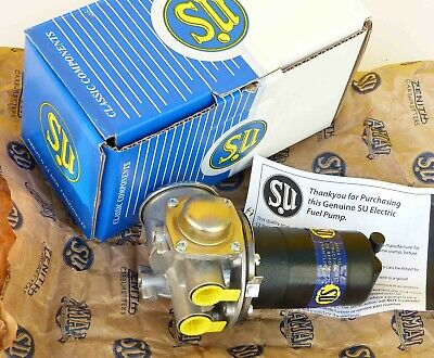 SU AZX1308 Genuine Burlen 12V Fuel Pump for Austin Healey Jaguar E Type Mk2 XJS