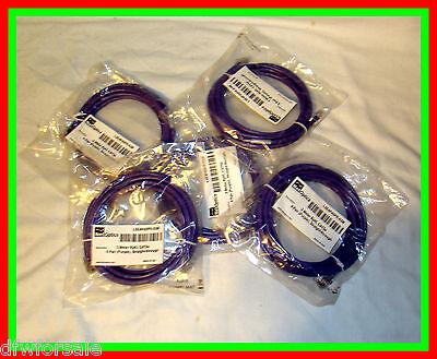 Lot Of 5 Rj45 Cat5e Cables 3 Meter Each Purple Netoptics Purple Cable Cat 5e