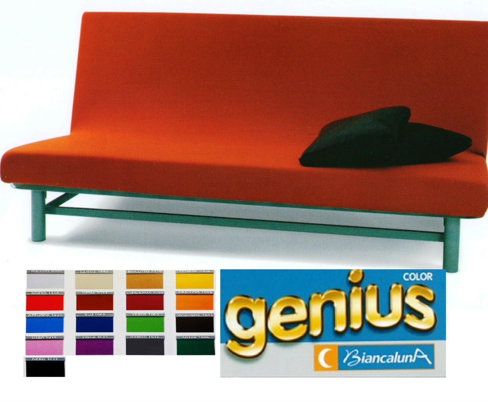 Copridivano 3 posti senza braccioli max cm 220 genius queen per divano 3 posti ebay - Copricuscini divano bassetti ...