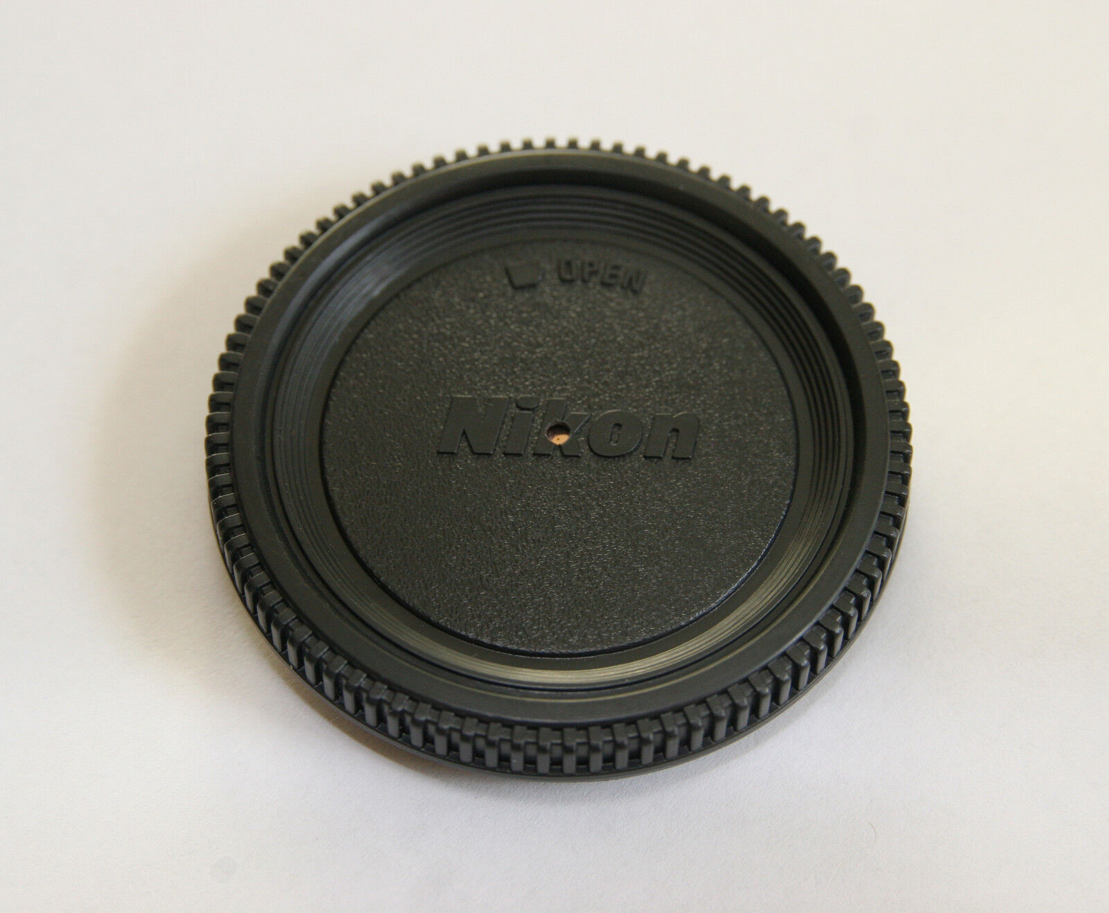 Nikon F Dustless Pinhole Lens Body Cap Camera Photography Lomo Lomogoraphy