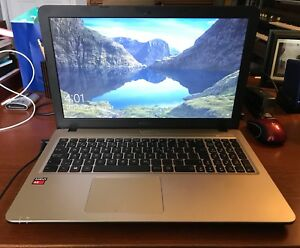 Asus X540YA Laptop with Case