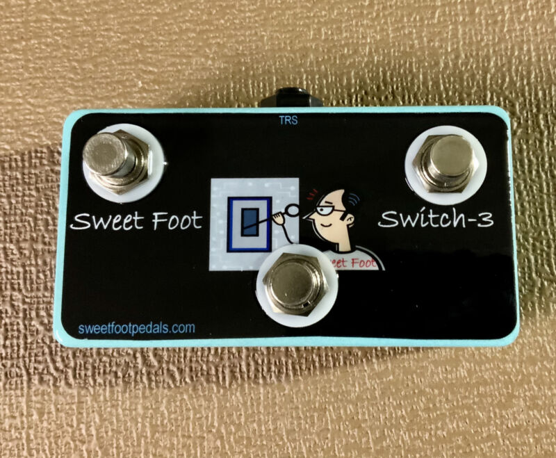 3 BUTTON Footswitch for Pigtronix Infinity 2 - HANDMADE in USA