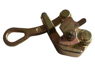 Wire Grip Steel Wire Grip Cable Clamp Wire Pulling Grip Hand Puller 2204lb