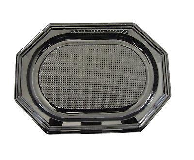 vierplatten, Catering-Trays, schwarz, klein, 350 x 250 x 20m (Catering-trays)