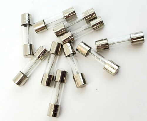 Lot of 10 Littelfuse 2 Amp 250V 5 X 20 MM Slow Blow Fuses