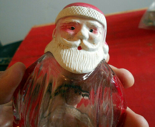 candy container  SANTA CLAUS vintage