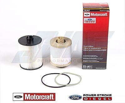 08-10 6.4L Powerstroke Diesel Truck Genuine Ford Motorcraft OEM Fuel Filter Kit
