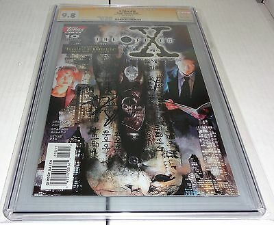 X-Files #10 CGC SS 9.8 Signature Autograph DAVID DUCHOVNY Signed Comics Topps 🔥