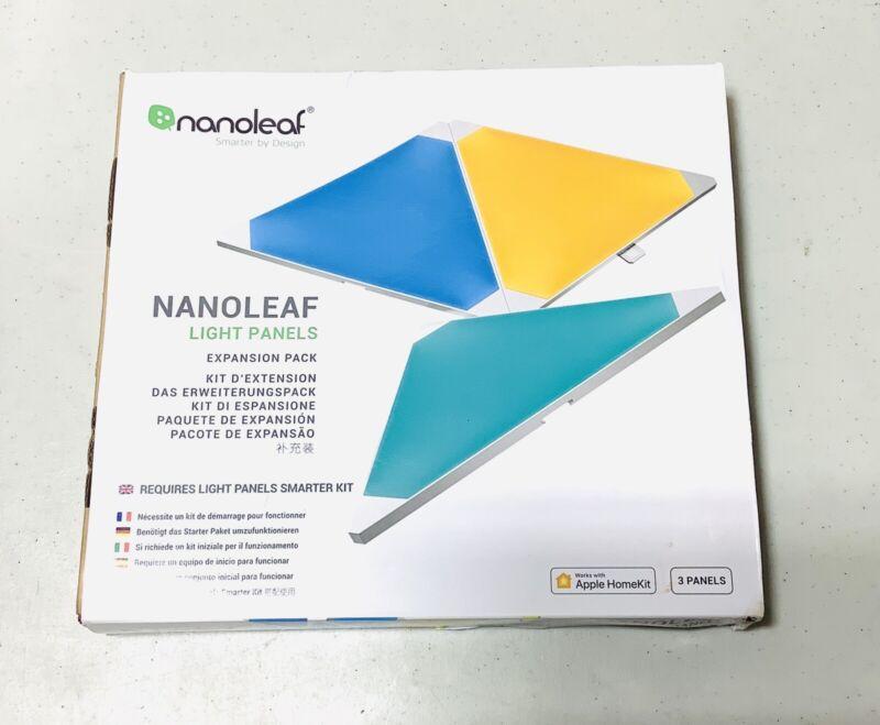 Nanoleaf Light Panels Smarter Kit Expansion Pack ~ 3 Panels ~ NL22-0001TW-3PK
