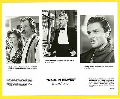 Made In Heaven Ann Wedgeworth Timothy Daly Publicity Movie Film Star Press Photo