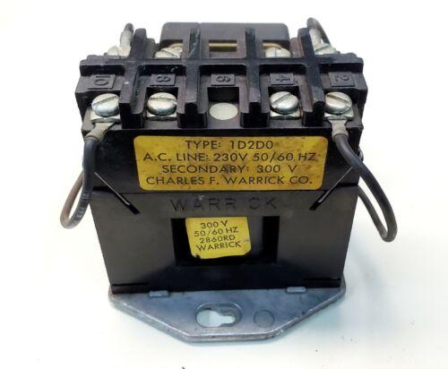 Warrick 1D2D0 230 VAC Liquid Level Control Detector Tested Working