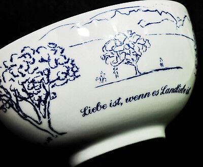 Landliebe Joghurt, Porzellan Müslischale von Andrea Hilles Ritzenhoff