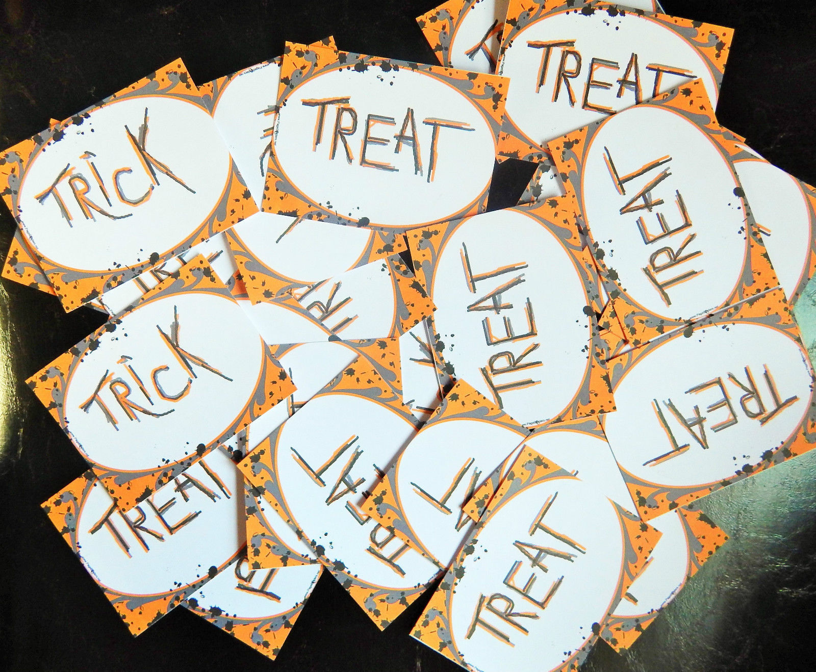 Halloween Trick or Treat Pack of Cards for Party Games