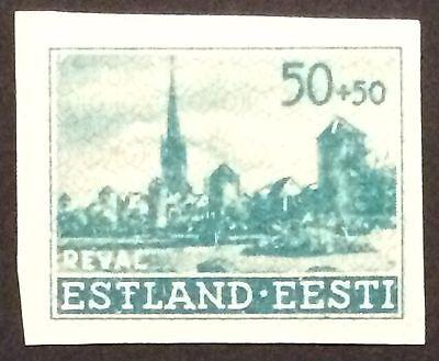 Deutsches Besetzung Estland Ungebraucht (Mint hinged) Mi. Nr. 7U III