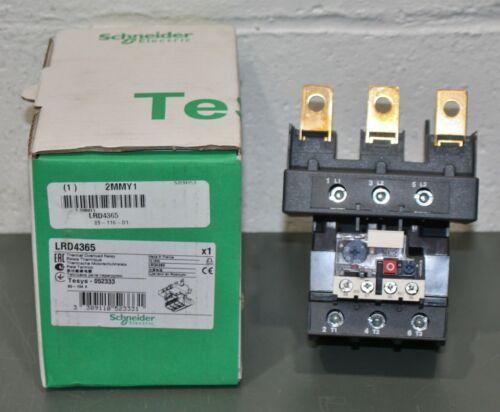 Schneider Electric IEC Overload Relay LRD4365, 3 Pole, 80A - 104A, Trip Class 10