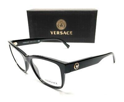 Versace VE3266 GB1 Men's Pillow Demo Lens Eyeglasses Frame (Versace Eyeglass Frames Men)