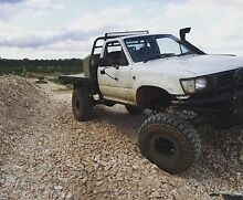 Toyota hilux 4x4 Solid Axle Londonderry Penrith Area Preview