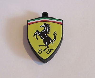 Minigz Car Badge Ferrari Usb Stick 64gb Memory Keyring Flash Drive Computer Pc