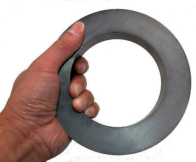 Huge 3lb Ferrite Donut Ring Ceramic Magnet Size 6 Od 4 Id 1 Thick