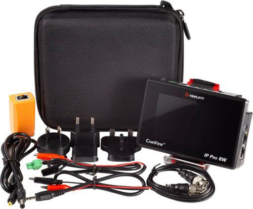 Triplett Camview IP Pro-8W HD CCTV Portable IP & Analog Security Camera Tester