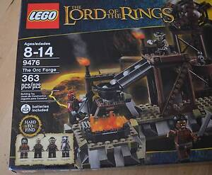 LEGO 9476 LORD OF THE RINGS, THE ORC FORGE NEW SET Chelsea Kingston Area Preview