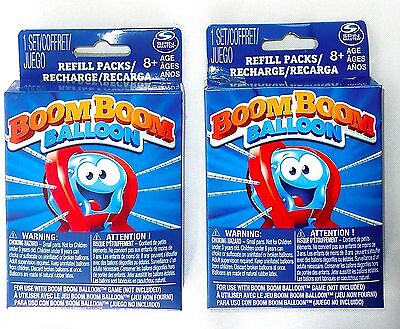 (LOT OF 2) Spin Master Boom Boom Balloon Game Refill Pack 20 Balloons Each >NEW<