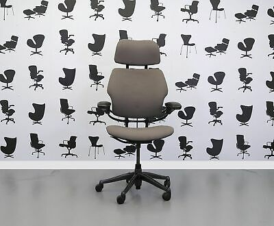 Refurbished Humanscale Freedom High Back Task Chair - Blizzard YP081