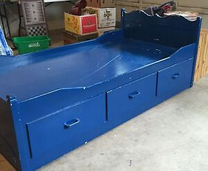 FREE 6 drawer mate's bed frame (twin)