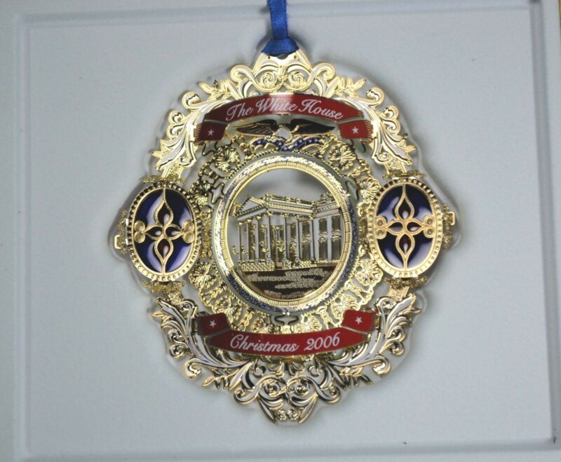 White House Historical Association Christmas Ornament 2006