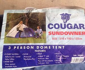 3 person dome tent West Pennant Hills The Hills District Preview