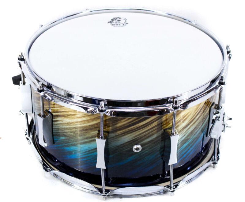 Pork Pie Birch Snare Drum 14 x 7 in. Blue Fade Dip