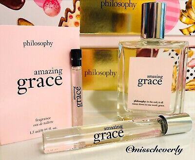 PHILOSOPHY Amazing Grace Fragrance Spray 2oz, Rollerball or 1.5ml Sample -