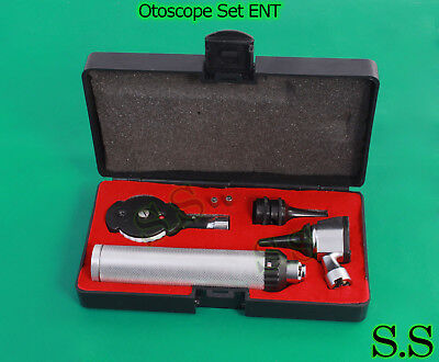 Otoscope Ophthalmoscope Set Ent Medical Diagnostic Surgical Instrumentsnt-528