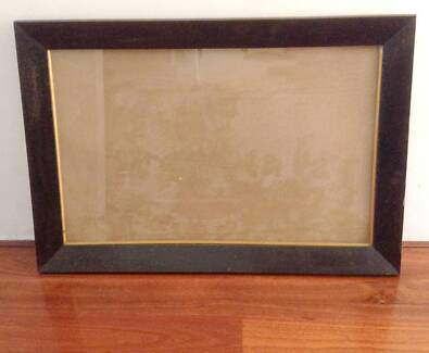 Solid Jarrah Box Frame Without Glass Picture Frames Gumtree