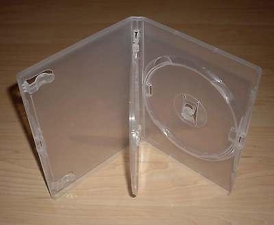 5 DVD Hüllen Case Cases 3fach 3er transparent Klapptray für 3 DVDs Neu