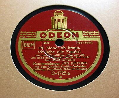 Jan Kiepura - Ob blond, ob braun, ich liebe alle Frau'n ! / Schenk' mir Dein...
