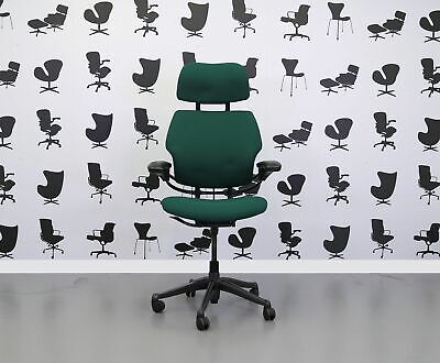 Refurbished Humanscale Freedom High Back Task Chair - Taboo - YP045